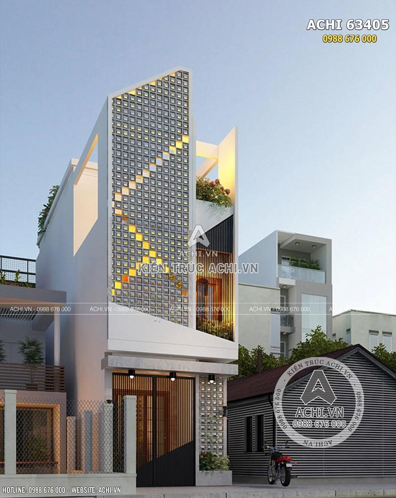Hình ảnh: Một góc view mẫu nhà ống 3 tầng hiện đại đẹp