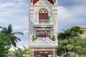 Thiết kế nhà ống mặt tiền 5m tân cổ điển tại Nam Định– Mã số: ACHI 63201