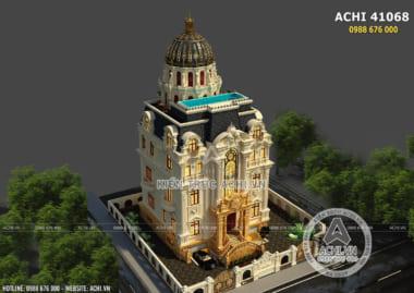 Hình ảnh: Thiết kế mái uy quyền đẹp tại Quảng Ninh – ACHI 41068