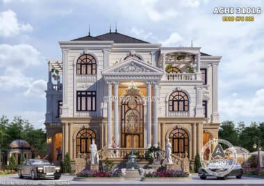 Hình ảnh: Mẫu thiết kế nhà 3 tầng đẹp tại Quảng Trị – ACHI 31016