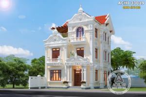 Mẫu biệt thự Pháp 3 tầng đẹp hơn 2 tỷ tại Hà Nội – ACHI 33019